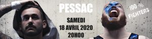 Show de catch Pessac 18 avril 2020